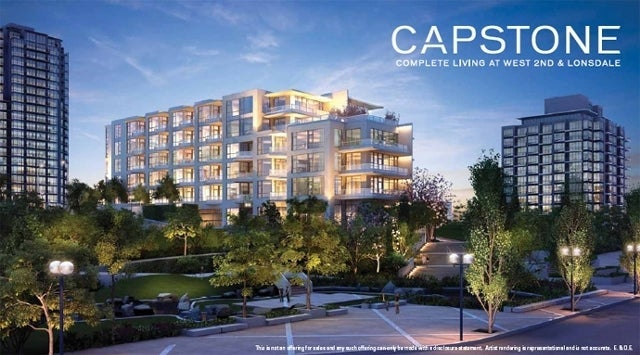 Capstone   --   135 West 2nd Street, North Vancouver - North Vancouver/Lower Lonsdale #4